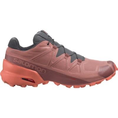 サロモン Salomon レディース ランニング・ウォーキング シューズ・靴 Speedcross 5 Trail Running Shoes Brick Dust/Persimmon/Persimmon