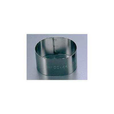 EBM 18-8 スポット溶接 小判型セルクルリング 60×40×H30