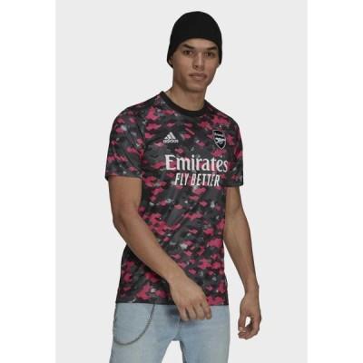 アディダス メンズ スポーツ用品 Sports shirt - pink/dgh solid grey/black