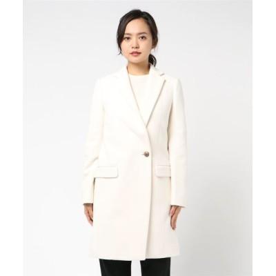 DOUBLE STANDARD CLOTHING / FLEECE PLEASE made in ITALYチェスターコート WOMEN ジャケット/アウター > チェスターコート