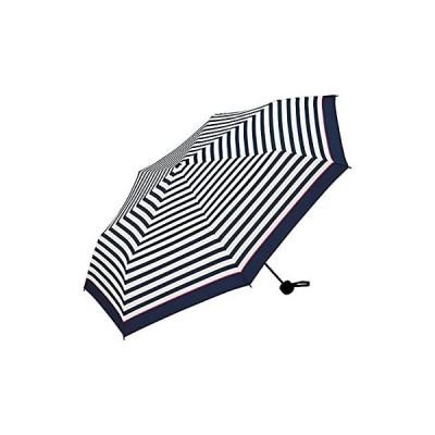 ワールドパーティー(Wpc.) 雨傘 折りたたみ傘 ネイビー 58cm レディース メンズ ユニセックス MSM-038