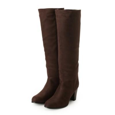 OPAQUE.CLIP / スウェード調ロングブーツ WOMEN シューズ > ブーツ