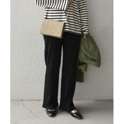 SHIPS for women/シップスウィメン SHIPS any: リブレギンスパンツ ブラック SMALL