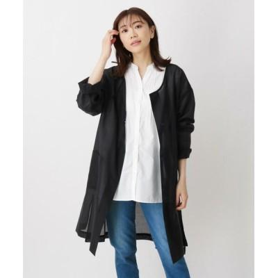 SHOO・LA・RUE/シューラルー シアークルーネックコート ブラック(019) 00