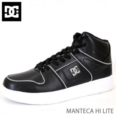 スケボーシューズ DC スニーカー メンズ MANTECA HI LITE/BLACK-WHITE  DM196601 ディーシーシュー DC shoes