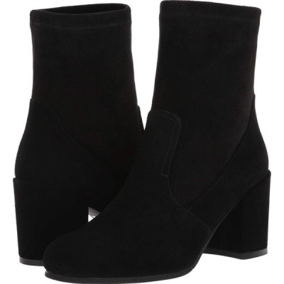 VALDINI レディース ブーツ シューズ・靴 Riana Waterproof Boot Black Suede/Stretch