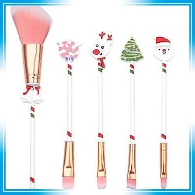 【beauty player】アイメイクブラシ 5本セット 化粧筆 メイクブラシセット メイクブラシクリーナー コスメ ブラシ