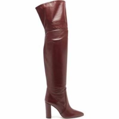 パリ テキサス Paris Texas レディース ブーツ シューズ・靴 Over-the-knee leather boots Burgundy