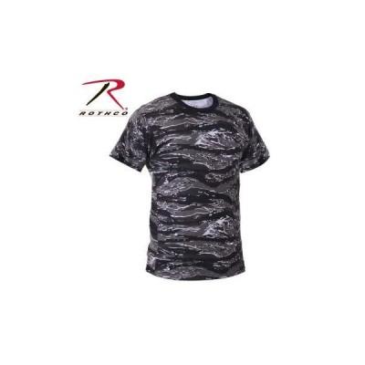 ROTHCO / ロスコ 61070 迷彩 カモフラージュ メンズTシャツ Camo T-Shirts / Urban Tiger Stripe Camo【サイズ:S 〜XL】