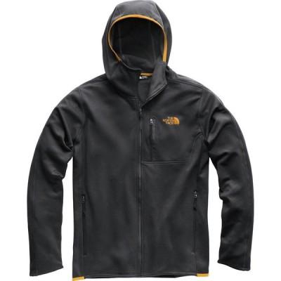(取寄)ノースフェイス キャニオンランズ フーデット フリース ジャケット - メンズ The North Face Canyonlands Hooded Fleece Jacket - Men's Tnf Dark Gr