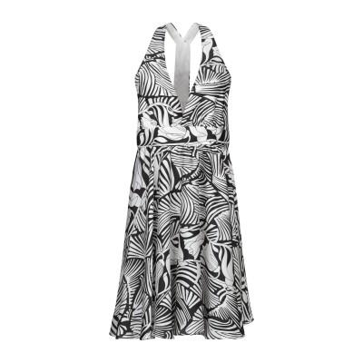 VICOLO ミニワンピース&ドレス ホワイト S ポリエステル 100% ミニワンピース&ドレス