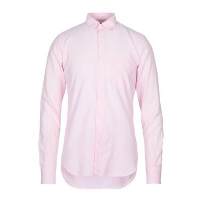 アスペジ ASPESI シャツ ピンク S コットン 100% シャツ
