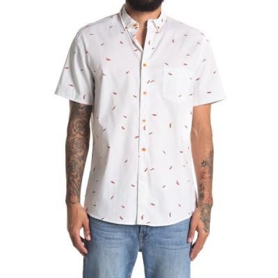 ソベリアンコード メンズ シャツ トップス La Playa Short Sleeve Regular Fit Shirt PEPPERS/WHITE