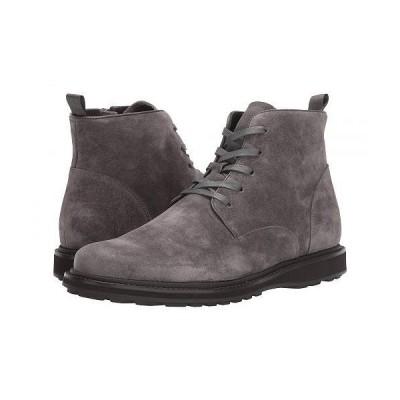 John Varvatos ジョーンバルバトス メンズ 男性用 シューズ 靴 ブーツ レースアップ 編み上げ Brooklyn Lace Boot - Coal