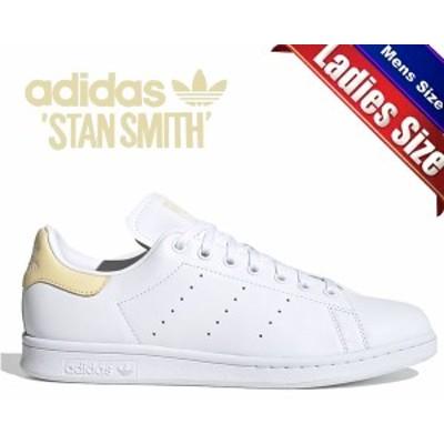 【アディダス スタンスミス】adidas STAN SMITH FTWWHT/FTWWHT/EASYEL ef4335 スニーカー レディース メンズ ホワイト イエロー