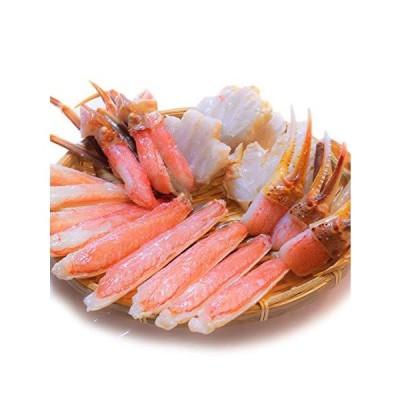 黒帯 ギフトセット 生ズワイガニ ポーション 1kg 特大 生 ずわい蟹 かに 蟹 ズワイガニ むき身 良品選別済 かに鍋 かにしゃぶ
