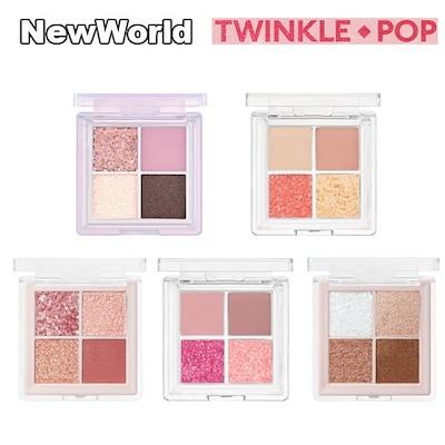 新色 twinkle pop フレックス グリッター アイパレット ラメアイシャドウ 正規品取扱い