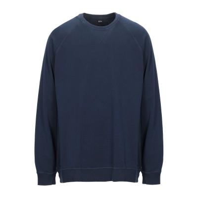 BOSS HUGO BOSS スウェットシャツ ダークブルー 3XL コットン 100% / ポリウレタン スウェットシャツ