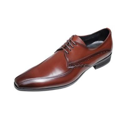 トラサルディTRUSSARDIメンズシューズ13071ブラウン紳士靴本革紐付きビジネスシューズ