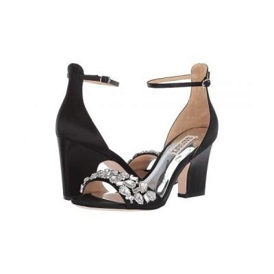 Badgley Mischka バッジリーミシュカ レディース 女性用 シューズ 靴 ヒール Laraine - Black Satin