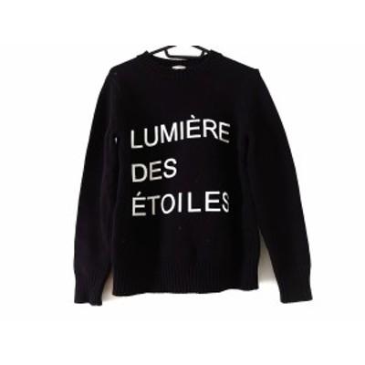 ドレステリア DRESSTERIOR 長袖セーター サイズ  レディース 美品 黒×白【中古】20200526