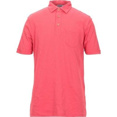 アンドレア フェンツィ ANDREA FENZI メンズ ポロシャツ トップス polo shirt Red