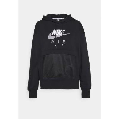 ナイキ レディース ファッション AIR HOODIE - Hoodie - black/white