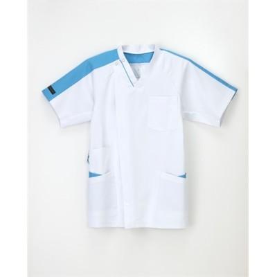 ナガイレーベン LX4177 男子スクラブ(男性用) ナースウェア・白衣・介護ウェア