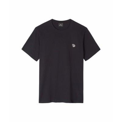 ポールスミス シャツ トップス メンズ PS Regular Fit Short Sleeve Zebra T-Shirt Navy