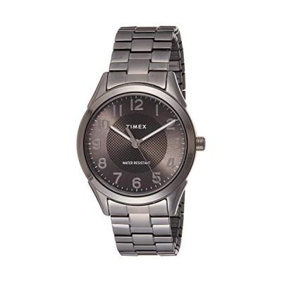 腕時計 タイメックス メンズ TW2T46000 Timex Men's Briarwood TW2T46000 Grey Stainless-Steel Japanese