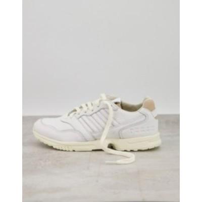 アディダス レディース スニーカー シューズ adidas Originals ZX 1000 sneakers in white White