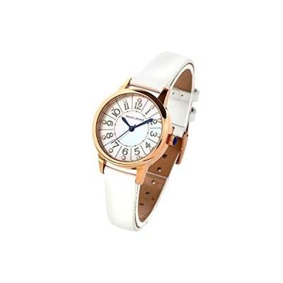 [マウロジェラルディ] 腕時計 ソーラー 3針 MJ060-2 レディース ホワイト