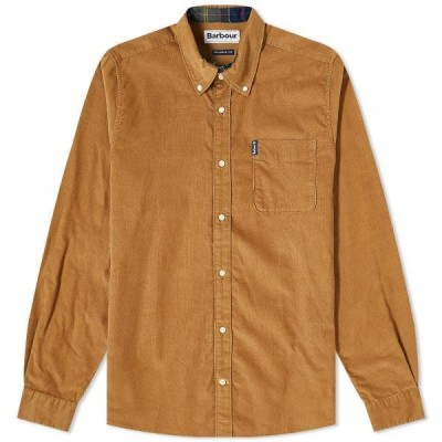 バブアー シャツ ジャケット メンズBarbour Cord 2 Tailored ShirtSandstone