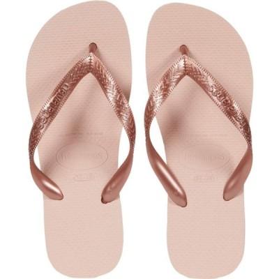 ハワイアナス Havaianas レディース ビーチサンダル シューズ・靴 Top Tiras Flip-Flops Ballet Rose