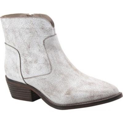 ディバトゥルー レディース ブーツ&レインブーツ シューズ Cool Wind Bootie White Leather