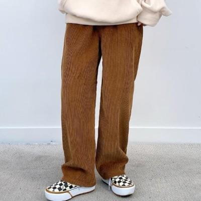 BULLANG GIRL レディース パンツ Golden straight banding trousers