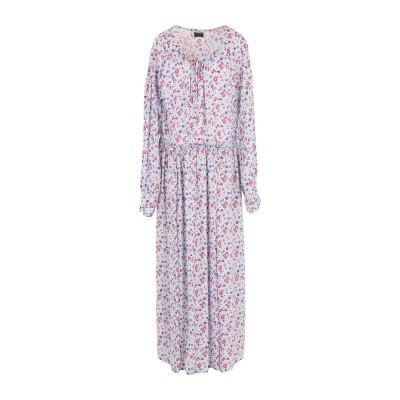 MARCO RAMBALDI ロングワンピース&ドレス スカイブルー 40 レーヨン 100% ロングワンピース&ドレス