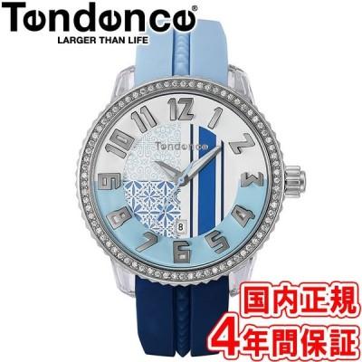 500円クーポン有り!テンデンス 腕時計 クレイジー ミディアム 41mm レディース ウォーターブルー/ネイビー TY930064