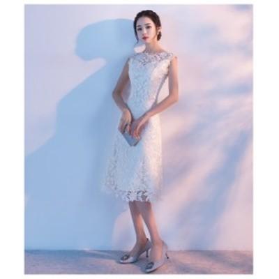 結婚式 ドレス パーティー ロングドレス 二次会ドレス ウェディングドレス お呼ばれドレス 卒業パーティー 成人式 同窓会hs77