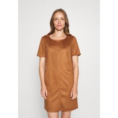 エスオリバー レディース ワンピース トップス Day dress - brown brown