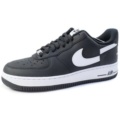 SUPREME ×NIKE×COMME des GARCONS 18AW AIR FORCE 1 LOW AR7623-001 スニーカー 黒【28.0cm】 【中古品-ほぼ新品】【中古】