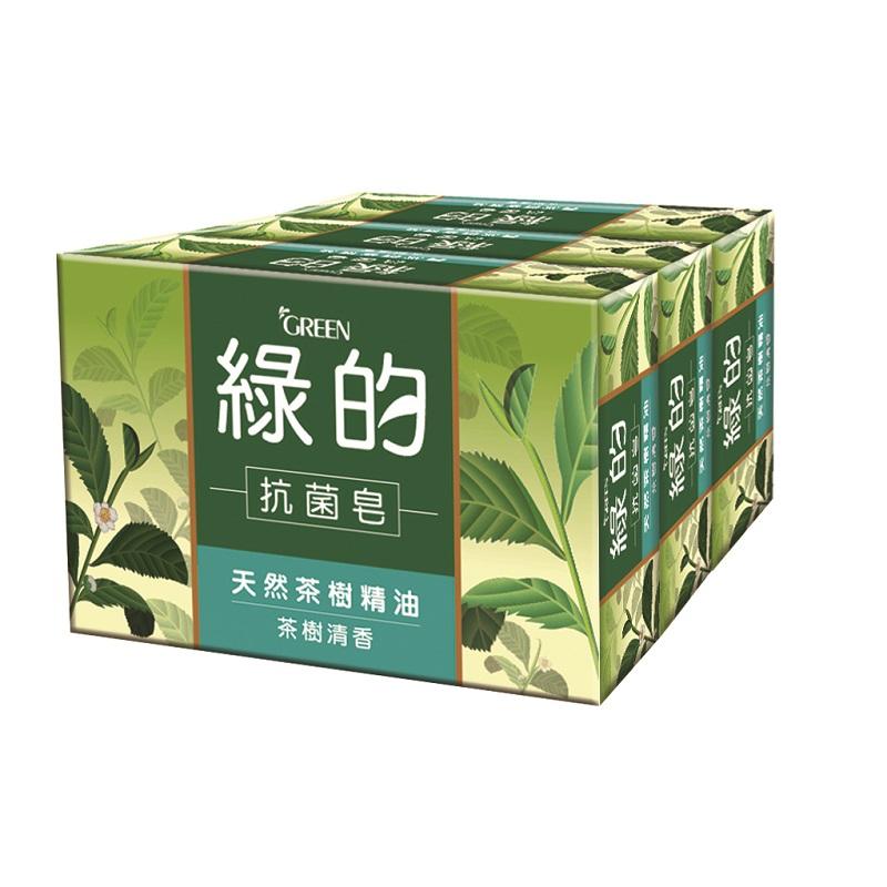 綠的抗菌皂-茶樹清香