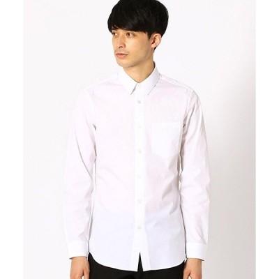 シャツ ブラウス ブロード 長袖シャツ