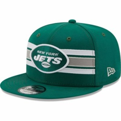 ニューエラ New Era メンズ キャップ 帽子 New York Jets Green 9Fifty Strike Adjustable Hat