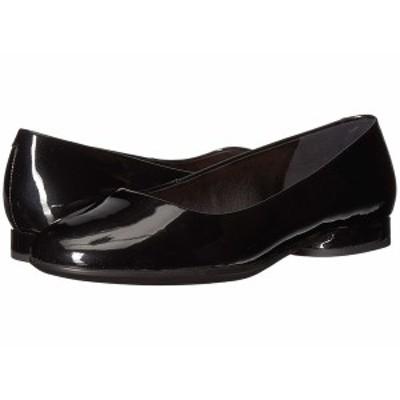 エコー レディース サンダル シューズ Anine Ballerina Black Cow Leather