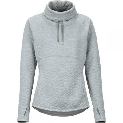 マーモット Marmot レディース スウェット・トレーナー トップス Annie Pullover Sweatshirt Grey Storm