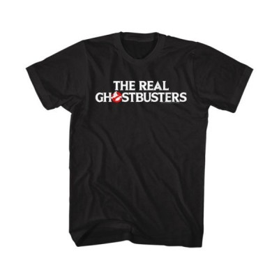 Tシャツ ゴーストバスターズ Ghostbusters The Real Ghostbusters Logo Licensed Adult T Shirt