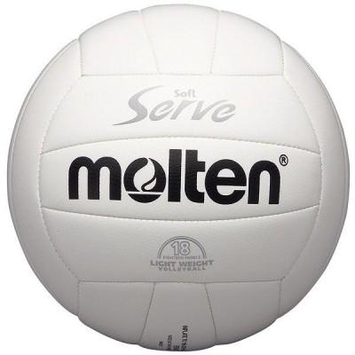 モルテン Molten バレーボール4号球 ソフトサーブ 軽量 白 EV4W