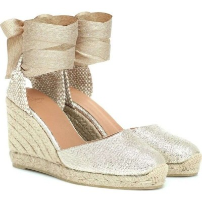 カスタニエール Castaner レディース エスパドリーユ ウェッジソール シューズ・靴 Carina Wedge Espadrilles oro