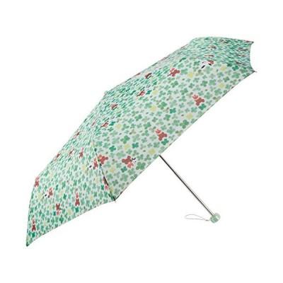 サンマルコ 折りたたみ傘 くまのがっこう 15周年 happiness of jackie 55cm ブルー